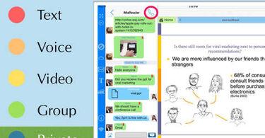 ViewChat pour iPad