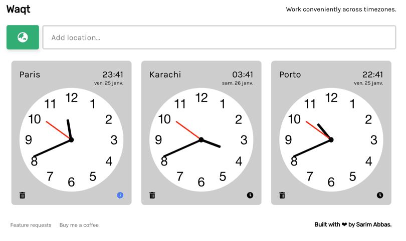Fuseaux horaires