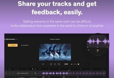 Collaborer fichiers audio